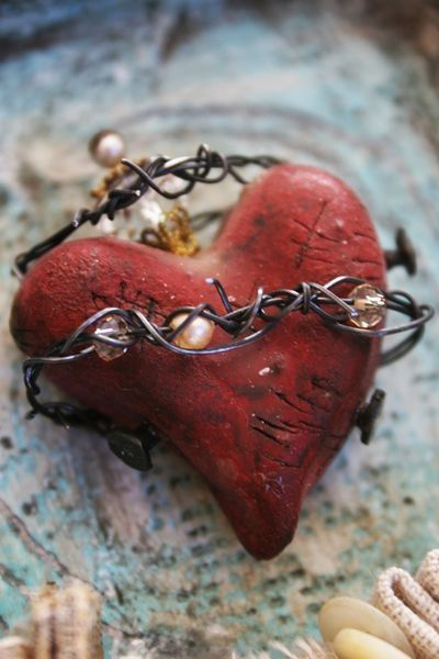 204 Best Barbed Wire Crafts Images On Pinterest Wire