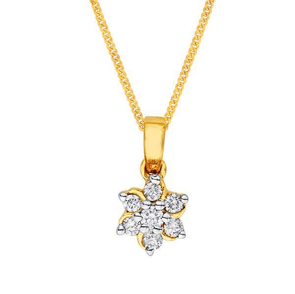 Katrina's Favourite - Nakshatra Diamond Pendant NPA152BSI-GH-K