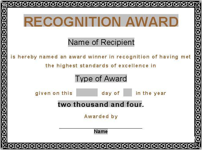 Award certificate samples node2003 cvresumeasprovider certificate of service template service dog certificate template award certificate samples yadclub Image collections