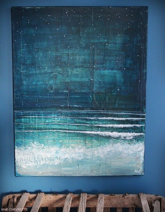 one of my favorites by Mae Chevrette!! I want to live in this painting!