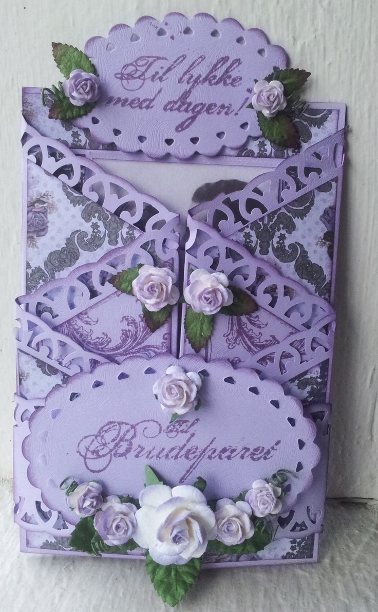 best cards tri fold double fold images on pinterest folded