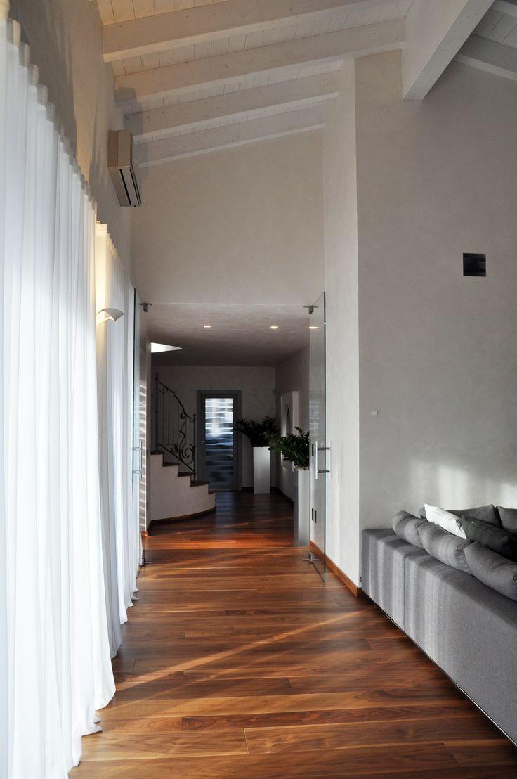 Nuova edificazione villa unifamiliare - Corridoio - Maria Teresa Azzola Designer - Gorlago (BG) 2014