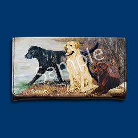 Chocolate Lab Wallet