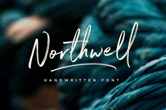 Northwell! A rustic, dapper handwritten font with a personal charm. With quick dry strokes and a signature style, Northwell is perfect for branding projects, homeware designs, product packaging - or simply as a stylish text overlay to any background image.