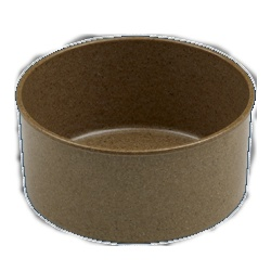 A bamboo bowl! This is 'the good china' for cats! $4.00