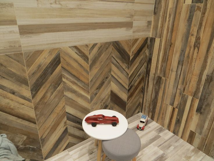 Rafters by Ascot – eclectic combinations of different tile sizes and setting schemes within one project