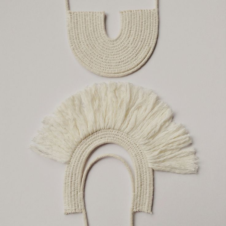 Woven rope necklace by Ouch Flower