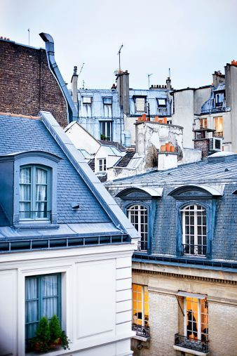 Love Paris - for the views like this...romantic architecture!