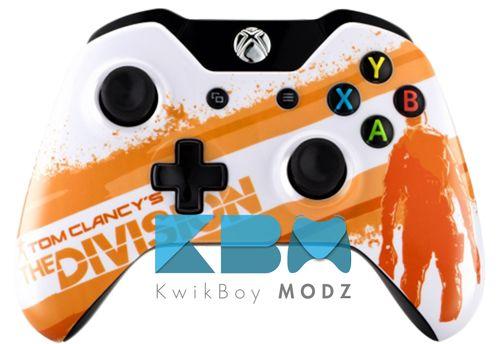 Custom Division Xbox One Controller #thedivision #xboxone #xboxonecontroller #kwikboymodz #customcontroller
