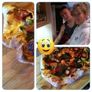 Hobson & Jodie Go Pizza Crazy……….  http://www.heartkitchen.co.uk/recipe/hobson-jodie-go-pizza-crazy/