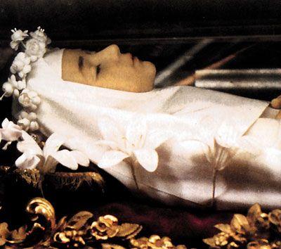 Blessed Imelda Lambertini - patron saint of First Holy Communion.