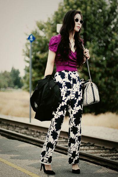 Printed Pants :)