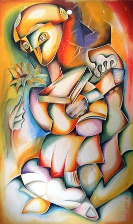 My Favorite Artist Work of Arts from Alexandra Nechita