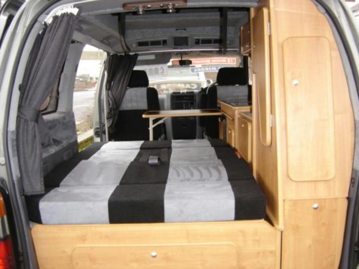 Toyota Granvia Van To Camper Conversion Pinterest