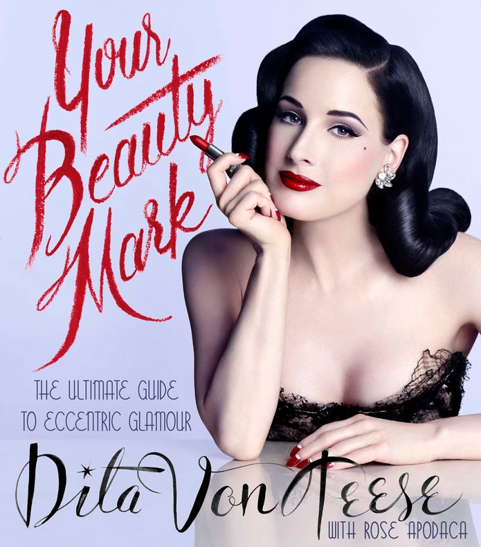#DitaVonTeese Explains Why the Only Thing She Won't Take Off Is Red Lipstick in #YourBeautyMark