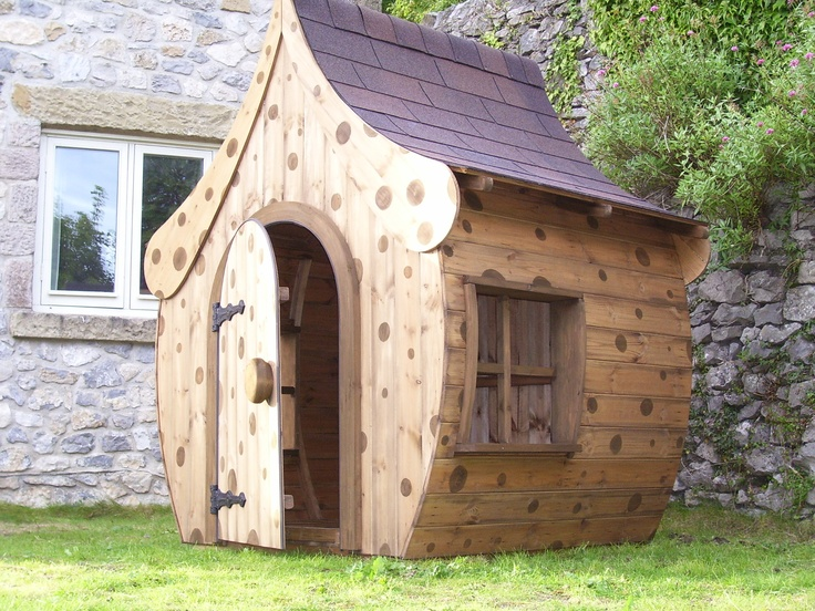 Image gallery whimsical playhouse for Whimsical playhouses