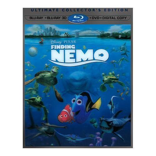 Finding Nemo (English) (3D Blu-ray Combo)