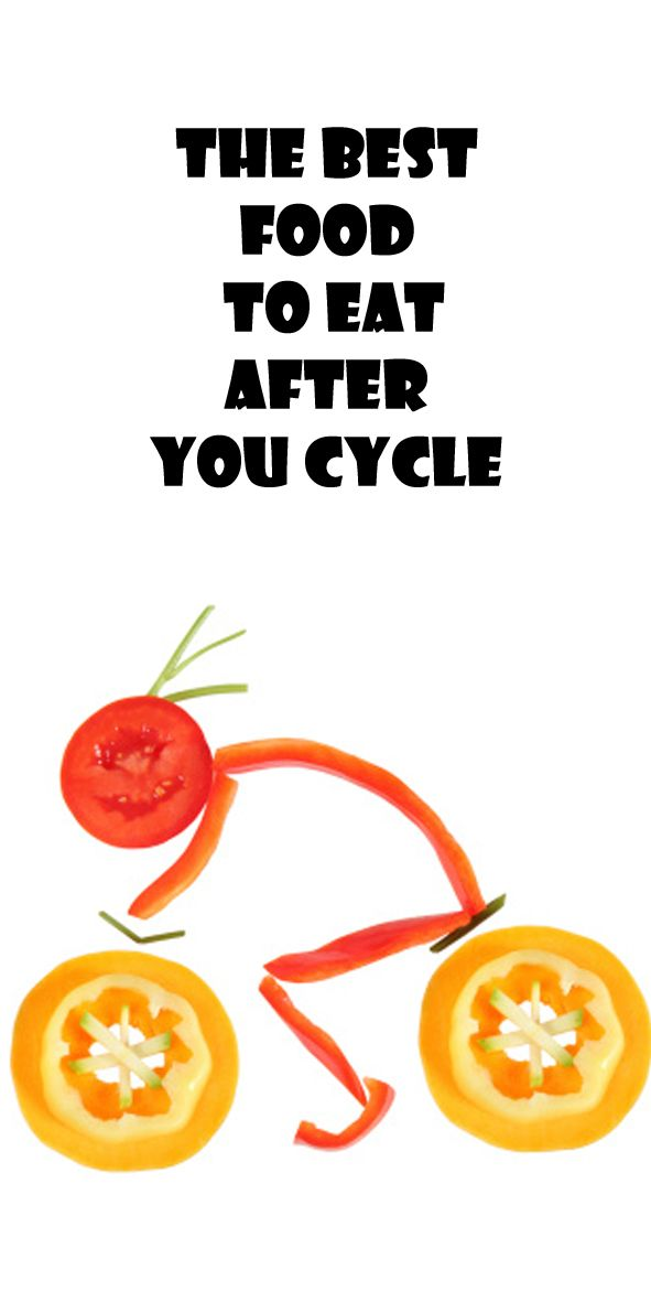 Why you should take the bike more often THE BEST FOOD TO EAT AFTER YOU CYCLE: thecyclingbug.co.uk