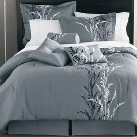 I do have a thing for grey bedding http://www.sears.ca/product/whole-home-md-presecco-duvet-cover-set/696-76760-76760