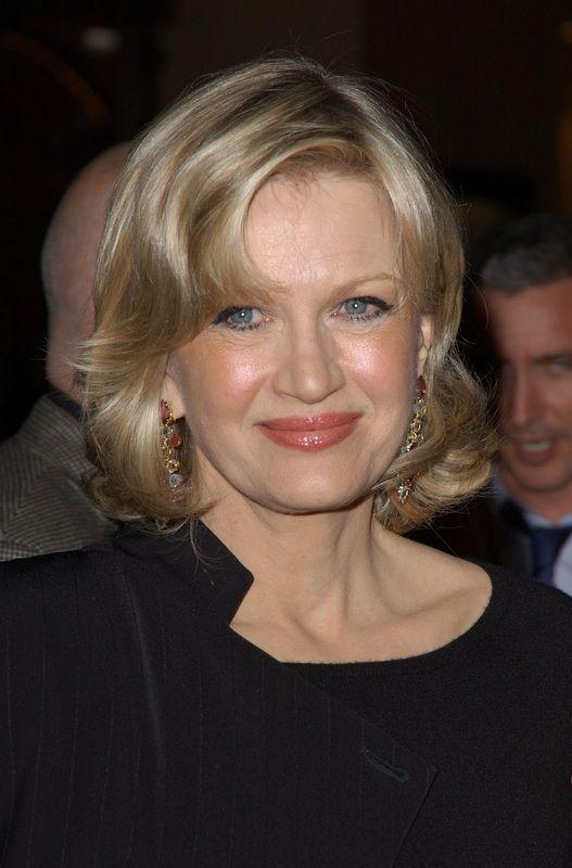 Diane Sawyer, current anchor of ABC World News.