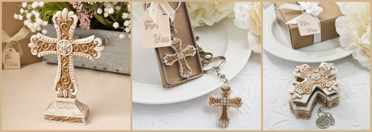 Antique Cross Party Favors from HotRef.com