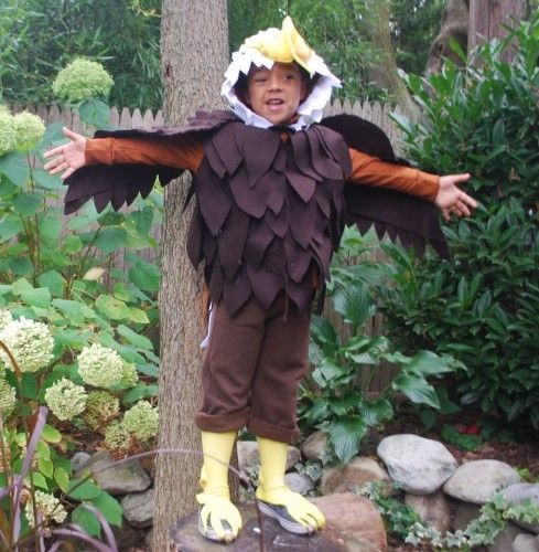 jewellery earrings designs Ask Holly A No Sew Bald Eagle Costume  Barista Kids