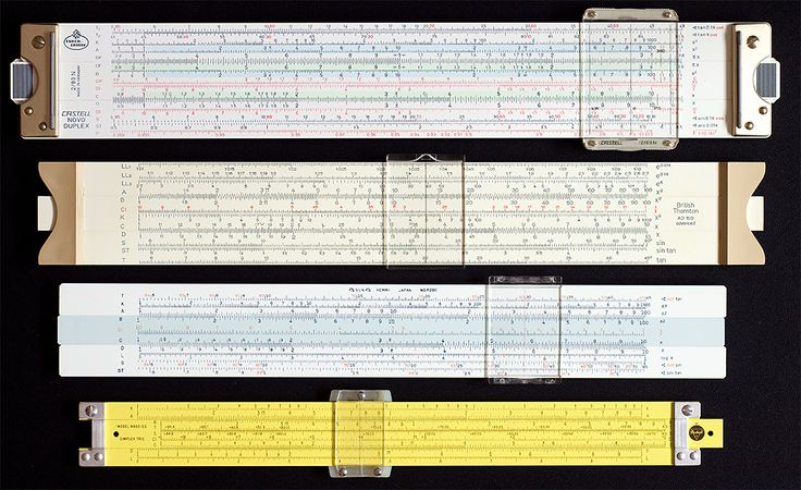 The Appeal of Slide Rules - For Use and as Collectables.