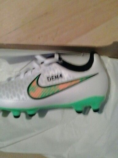 Personalised football boots name an nunber