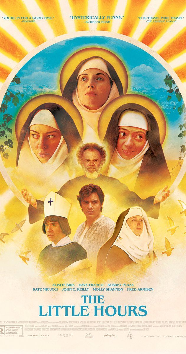 Directed by Jeff Baena.  With Alison Brie, Dave Franco, Kate Micucci, Aubrey Plaza. A young servant fleeing from his master takes refuge at a convent full of emotionally unstable nuns in the Middle Ages.