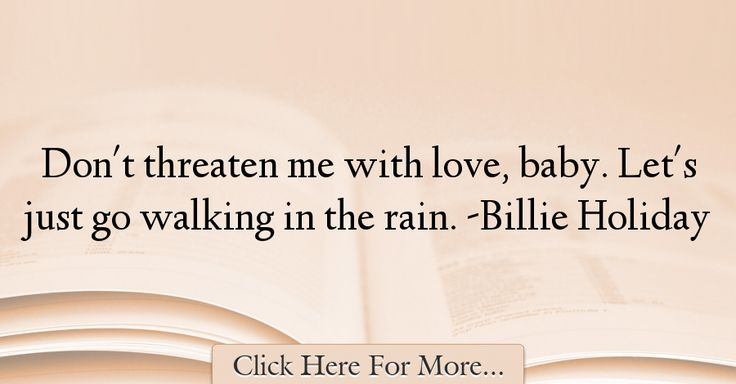 Billie Holiday Quotes About Love - 43798