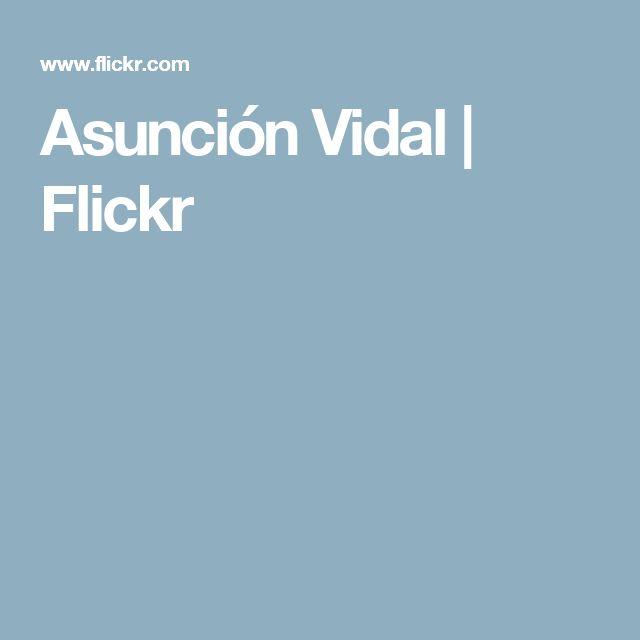 Asunción Vidal   Flickr