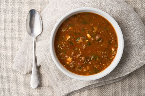 A recipe for turtle soup done Creole style, like they serve in New Orleans. This is a classic turtle soup recipe, done with snapping turtle.