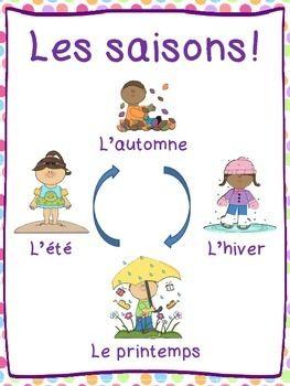 FRENCH CALENDAR PACK - TeachersPayTeachers.com