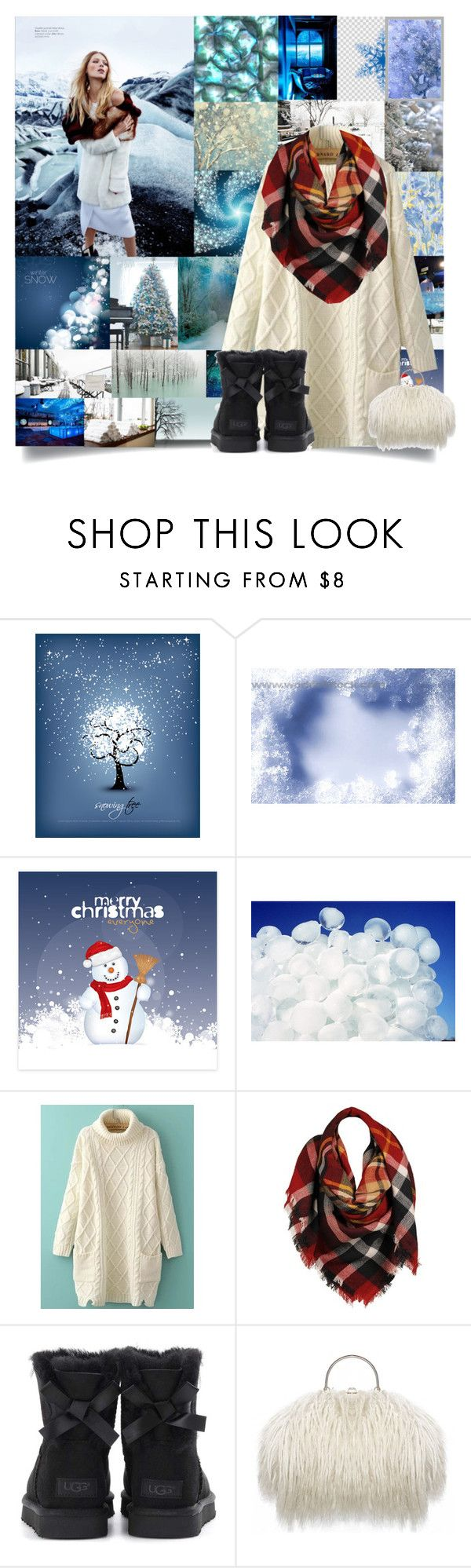 """""""❄️Winter Wonderland❄️"""" by cheyenne-muter ❤ liked on Polyvore featuring Disney, GALA, INC International Concepts, mark., Tema, WithChic, Sylvia Alexander, UGG, Winter and snow"""