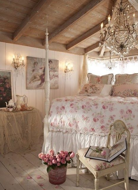 what i want my room to look like...love!Guest Room, Dreams Bedrooms, Romantic Bedrooms, Cottages Bedrooms, Beds Room, Shabby Bedrooms, Bedrooms Decor, Shabbychic, Shabby Chic Bedrooms