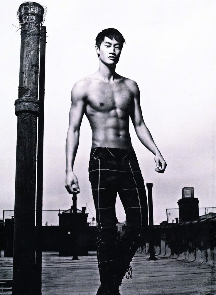 Phillip Huang, American-Chinese top model.