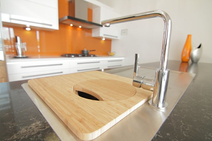 www.wallspan.com.au Interior designer's choose Wallspan's Madrid kitchen range for the sophisticated high-gloss look and bold modern styling.