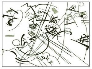 Coloriage Vassily Kandinsky 1