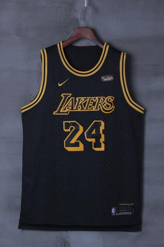 cff2a1bf1af Limited Edition Los Angeles Lakers #24 Kobe Bryant Basketball jersey ...