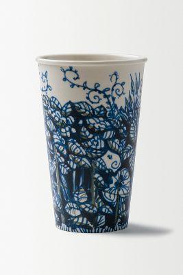 Gwyneth Leech Porcelain Sculpture Latte Cup