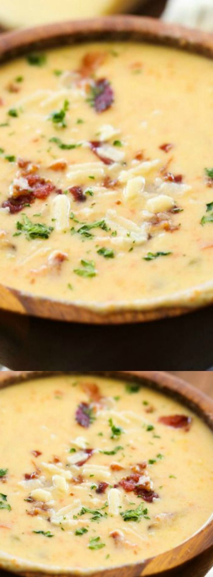 This Asiago Bisque soup recipe from Chef in Training is so incredibly delicious! It is a flavorful recipe that combines delicious Asiago cheese with bacon, onion, celery, potatoes and other ingredients to create a creamy soup that your family will love.