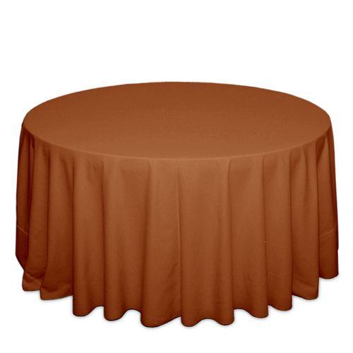 Burnt Orange Tablecloths, $12.88