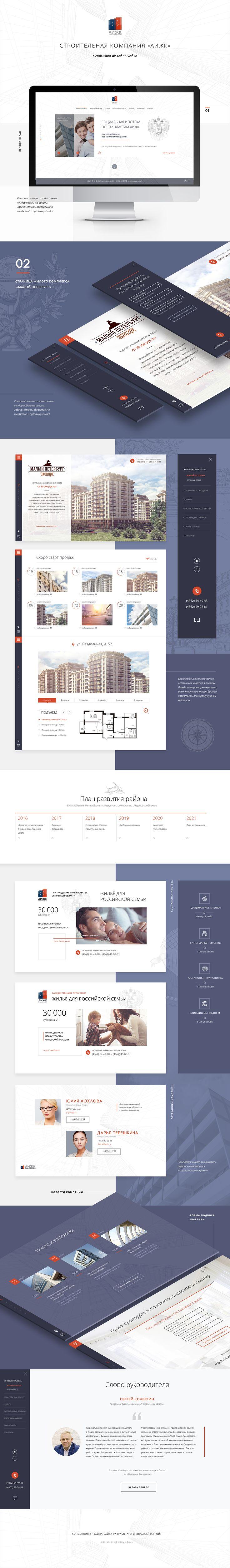 Ознакомьтесь с моим проектом в @Behance: «Строительная компания «АИЖК»» https://www.behance.net/gallery/44008409/stroitelnaja-kompanija-aizhk