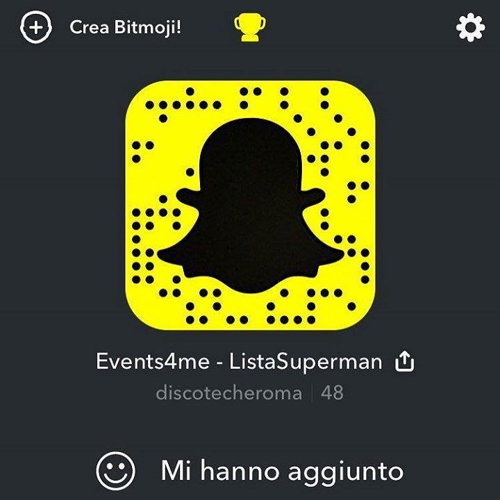 SPECIAL GIFT  Aggiungimi su Snapchat! Nome utente: discotecheroma http://ift.tt/28OXp4E or scan with friends!:) http://ift.tt/2sEkaWg - http://ift.tt/1HQJd81
