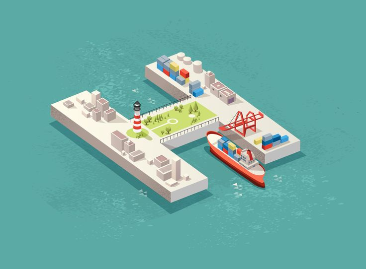 Designer Passport: A Shimmering Harbor Oasis Built From Shapes