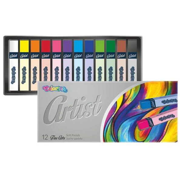 Colorino Artist Porpasztell készlet - 12 darabos