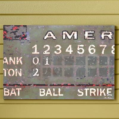 The  Best Baseball Scoreboard Ideas On   Baseball
