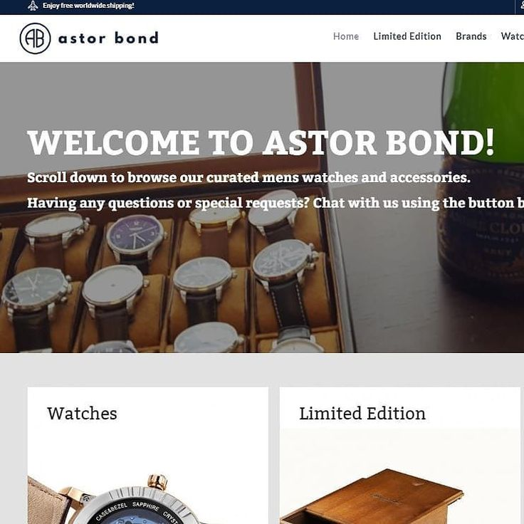 "Hello everyone! We have now ""stealth launched"" the site and it's open for all! Please send us any feedback as dm here on Insta or via messenger chat.  We are still adding brands products content and more... #astorbond #launch #openingday #watches #mensaccessories #menswatches #watchesofinstagram #watchporn #watchnerd #watchformen #eternawatches #louiserardwatches #dreyfussco #ingersollwatches #rotarywaytches #elyseewatches  #paulhewitt #thomassabo #moretocome"