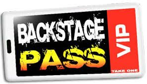 """Maybe we can make cheap versions of a backstage/all access pass? """"VIP Purim 2015"""" or something like that. Maybe have them in the lobby for people to take/wear. Depending on cost."""
