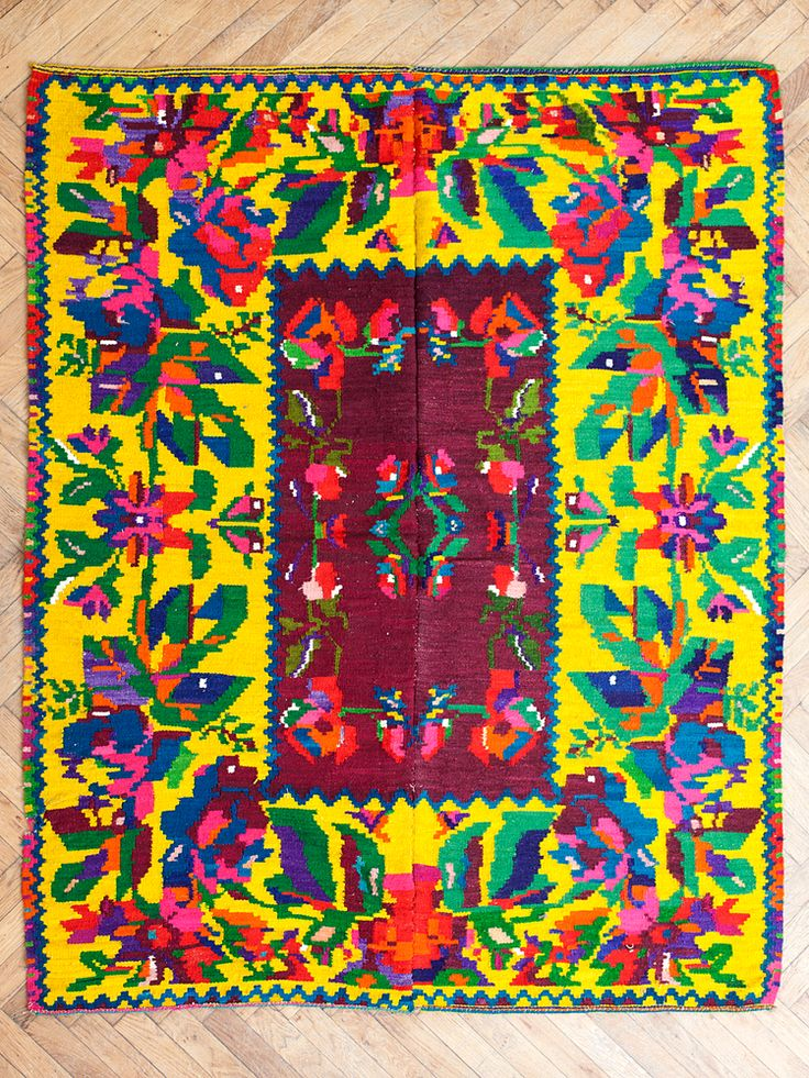 Image of ROMANIAN TRADITIONAL FLAT WAVE CARPET